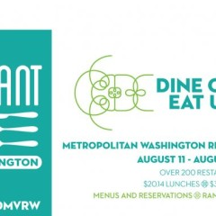 2014 DC Restaurant Week: New Restaurants, Special Notes & Other News