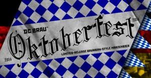DC Brau Oktoberfest poster