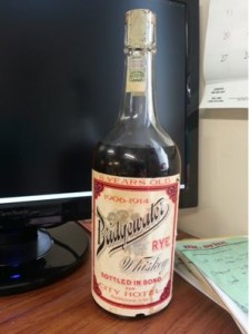 100 Year Old Whiskey Bottle