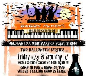 Bobby McKey's Halloween