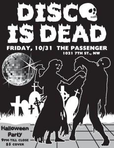 Disco is Dead Halloween Party DC