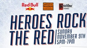 Rock the Red Charity Poster