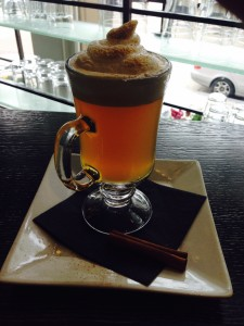 Nopa toddy with ameretto meringue