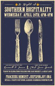 Jack Rose Sean Brock Southern Hospitality Poster