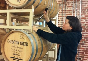 Catoctin Creek - Becky & Rabble Rouser barrel