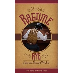 Ragtime Rye Whiskey label official