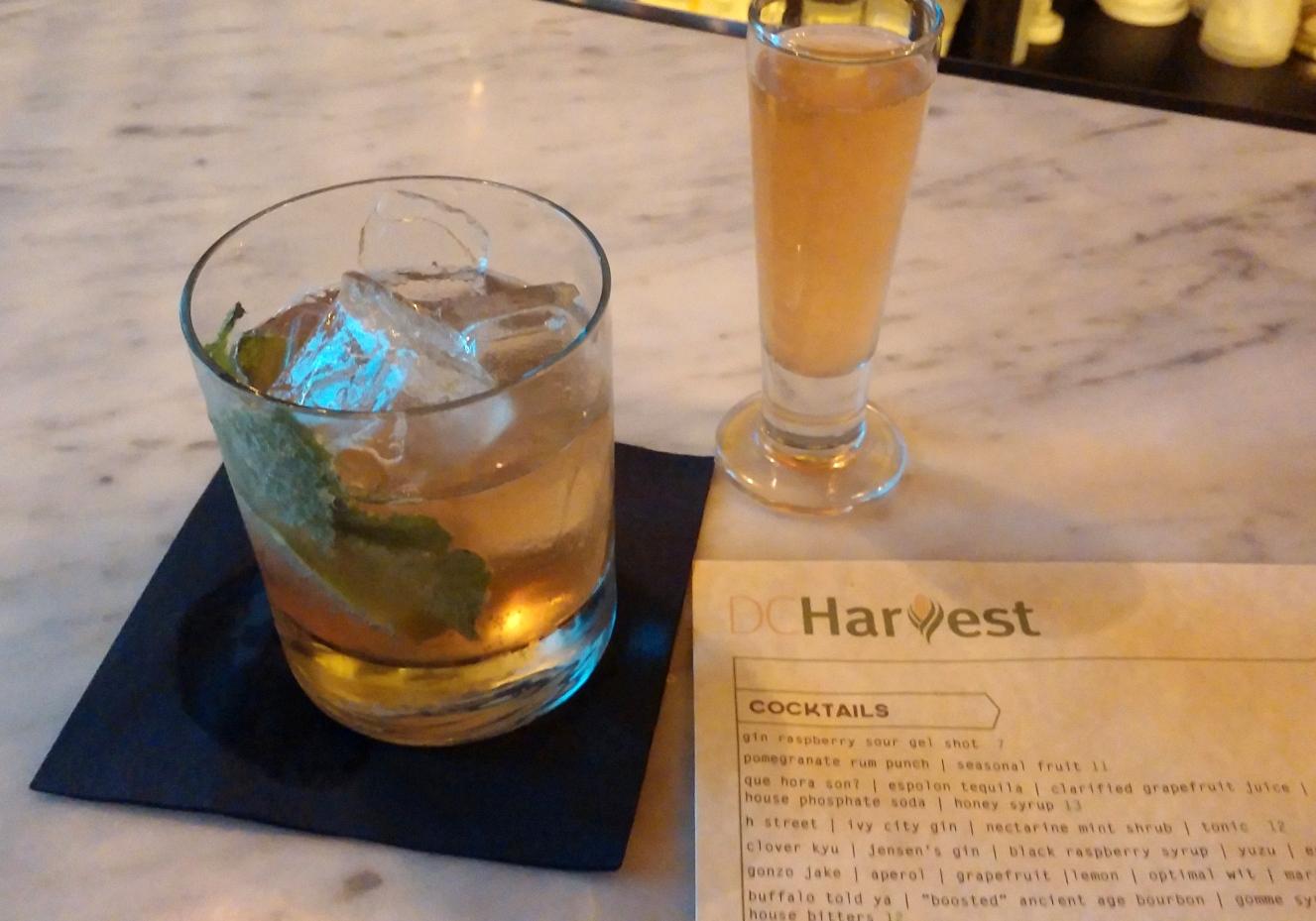 DC Harvest's Under the Radar, Inventive Cocktail Program