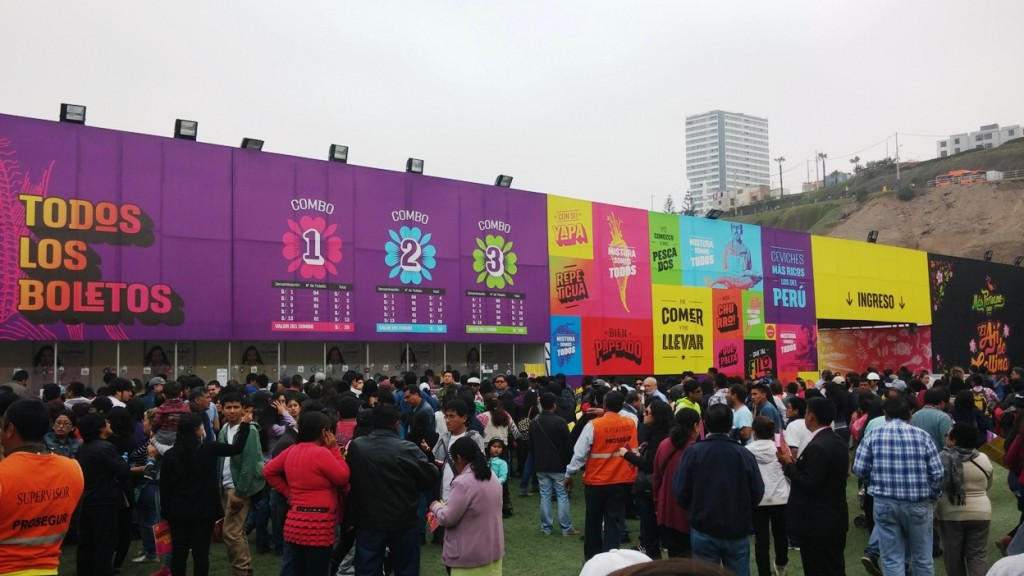 Mistura 2015 Entrance
