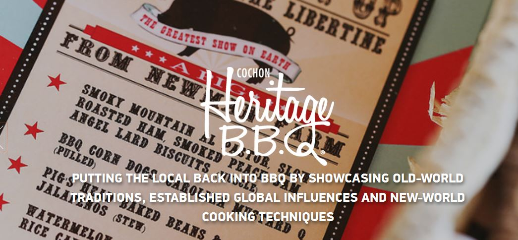 Event Preview: Heritage BBQ from Cochon 555 Sunday Oct 4th at Union Market