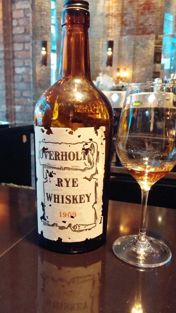 Prohibition Kitchen overholt whiskey 1909 pre-prohibition | man talk food
