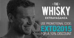 whisky extravaganza discount code