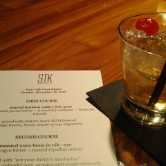 STK Plays Host to a Whiskey Cocktail Pairing Feast