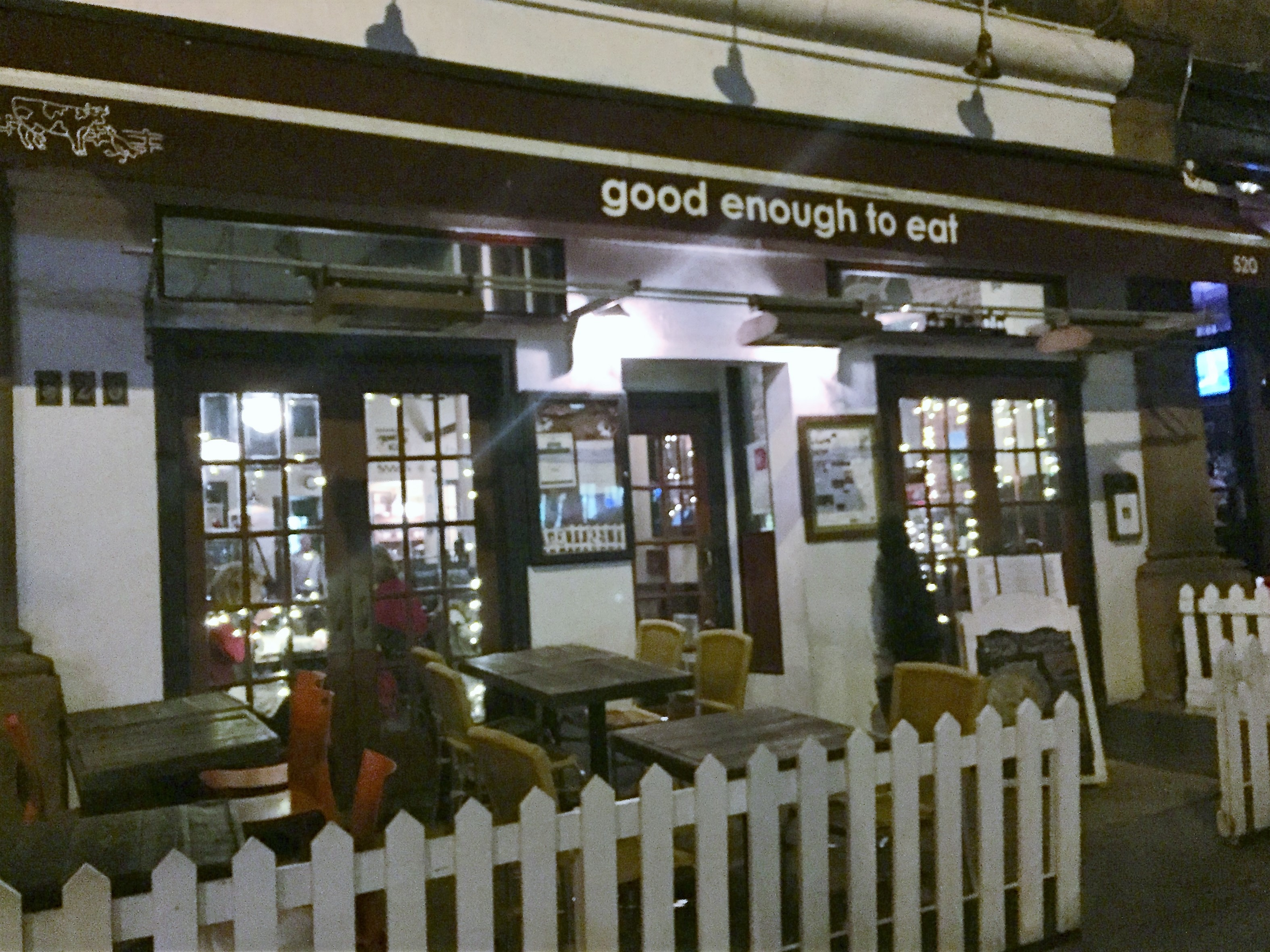 Good Enough to Eat NYC