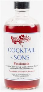 cocktail and sons fassionola syrup