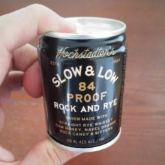 Drink Your Whiskey from a Can With Hochstadter's Slow & Low Rock and Rye