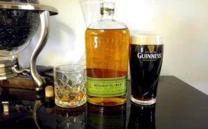 Bulleit Rye & Guinness Boilermaker