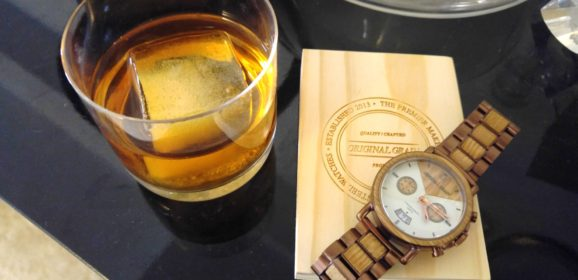 This Watch Is Made from Whiskey Barrels