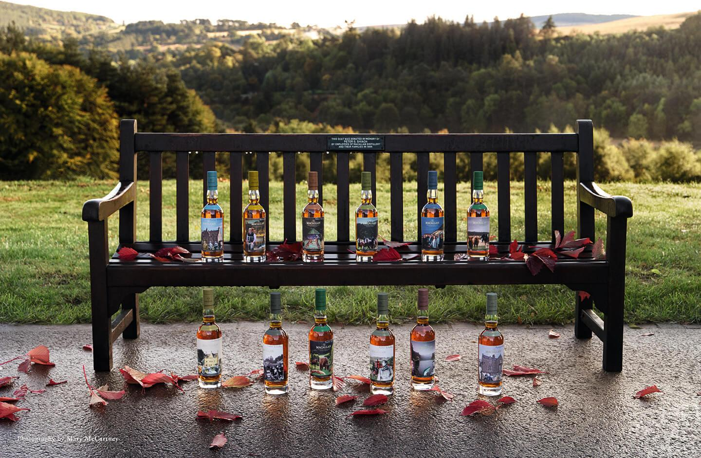 The Macallan Unveils New Anecdotes of Ages Whisky Collection with Sir Peter Blake