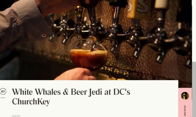 White Whales & Beer Jedi at DC's ChurchKey