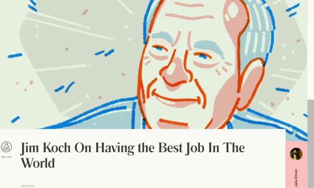 Jim Koch On Having the Best Job In The World