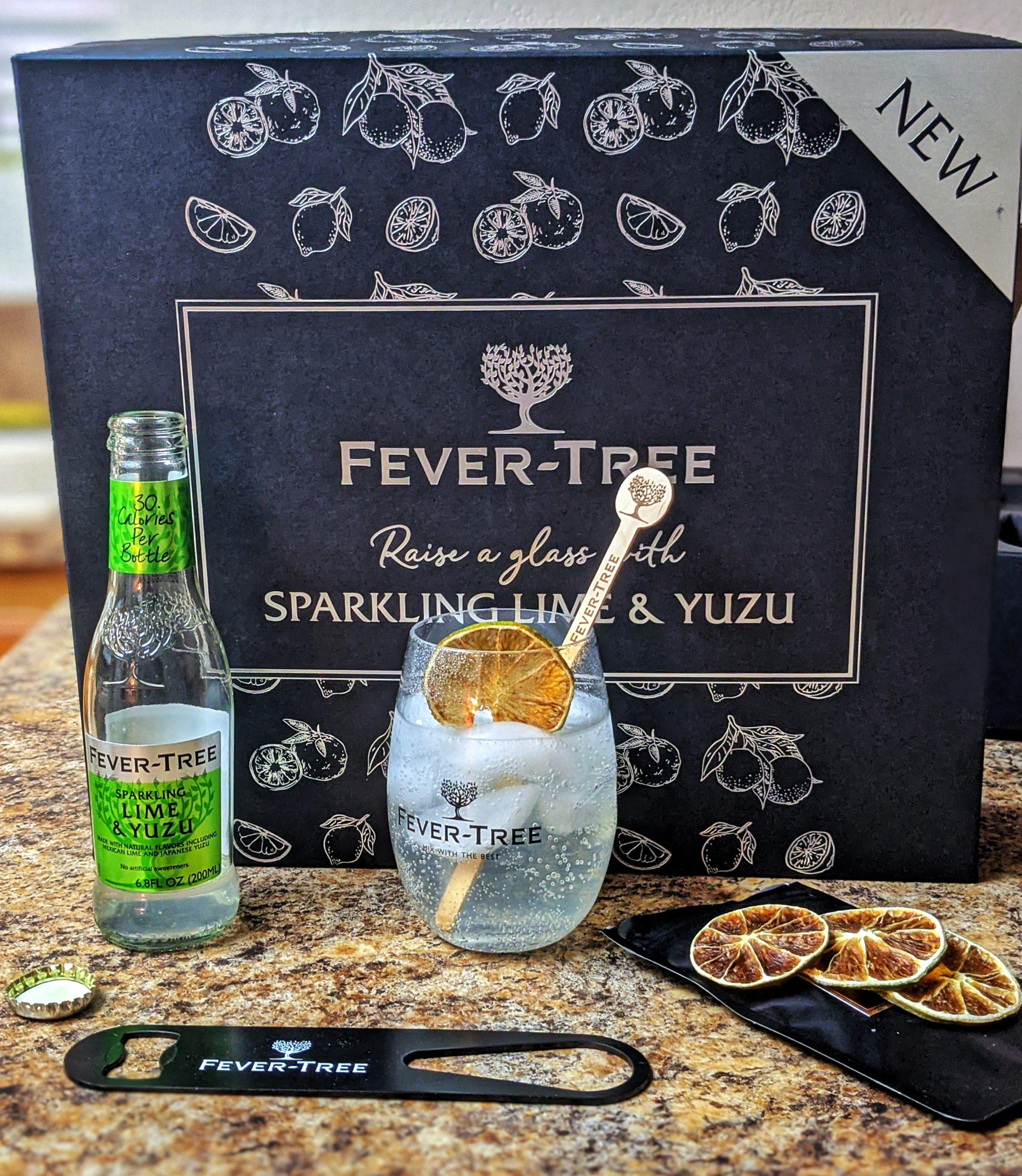 new Fever Tree flavor sparkling lime yuzu